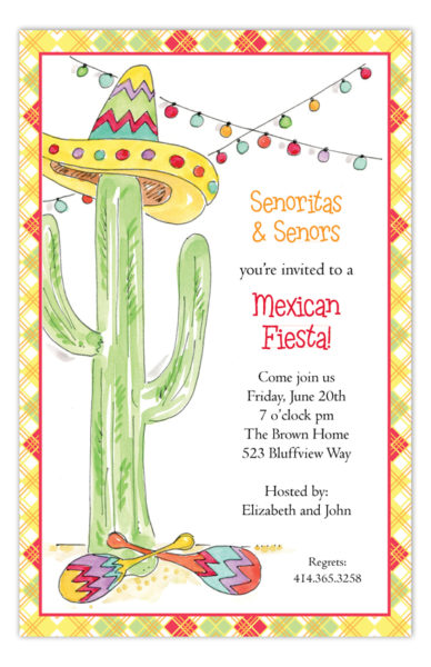 Party invitation wording ideas page 2 polka dot design polka dot fiesta cactus invitation rb np58py1105rb 388x600 party invitation wording ideas 2 stopboris Gallery